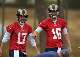 Case Keenum, Jared Goff