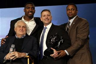 Don Shula, Greg Scruggs, Steve Specht, Try Vincent
