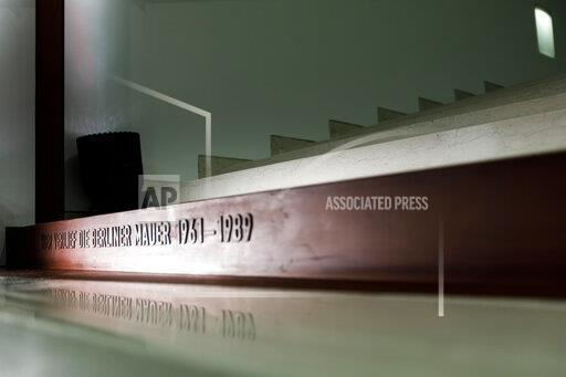 Course of the Berlin Wall in the Bundestag