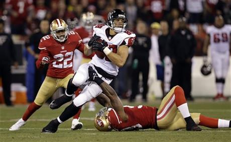 APTOPIX Falcons 49ers Football