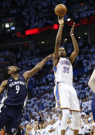 Tony Allen, Kevin Durant