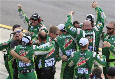 Dale Earnhardt Jr. crew members