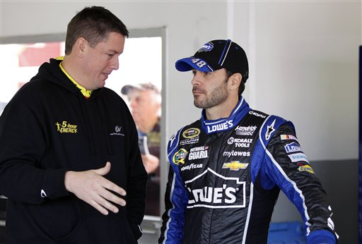 Brian Pattie, Jimmie Johnson