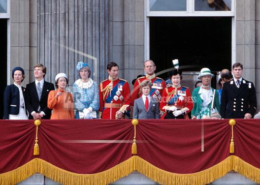 Associated Press International News England TROOPING COLOUR 1981