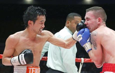 Yamanaka defends WBC bantamweight title with TKO