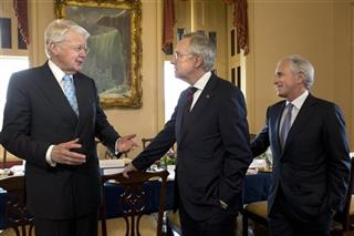 Harry Reid, lafur Ragnar Grmsson, Bob Corker
