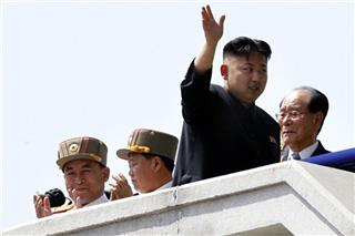 Kim Jong Un, Choe Ryong Hae, Ri Yong Ho, Kim Yong Nam