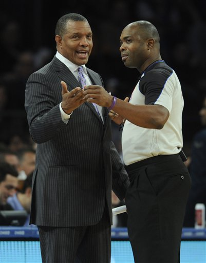 Alvin Gentry, Courtney Kirkland