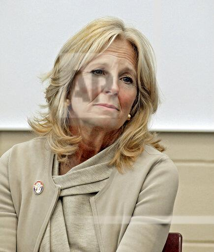 Dr. Jill Biden Visits Fort Riley
