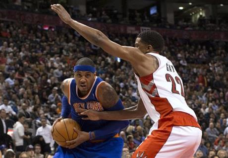 Rudy Gay; Carmelo Anthony