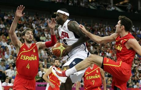 London Olympics Basketball Men