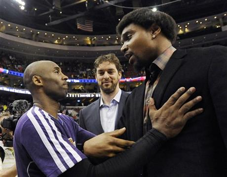 Kobe Bryant, Pau Gasol, Andrew Bynum