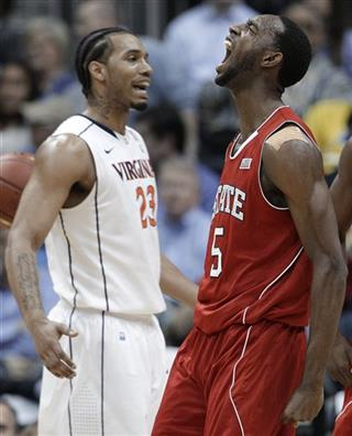 ACC NC State Virginia Basketball