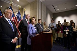 Nancy Pelosi, Xavier Becerra, Joe Crowley, Steny Hoyer