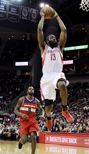 James Harden, Martell Webster