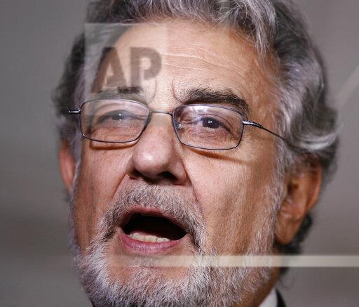 Placido Domingo accused of sexual harassment - 8/14/19