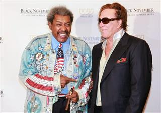 Don King Mickey Rourke