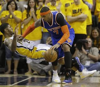 Paul George, Carmelo Anthony