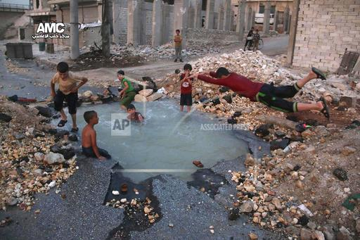 Mideast Syria Daily Life