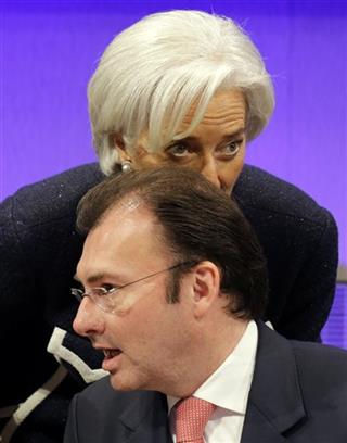 Luis Videgaray Caso, Christine Lagarde