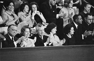 J. Edgar Hoover, Lady Bird Johnson,