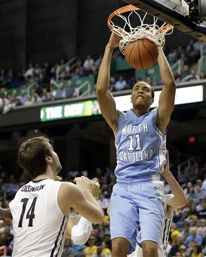 Brice Johnson, Ben Dickinson