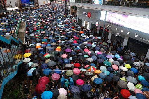 APTOPIX Hong Kong Protests