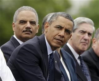 Barack Obama, Eric Holder, Robert Mueller