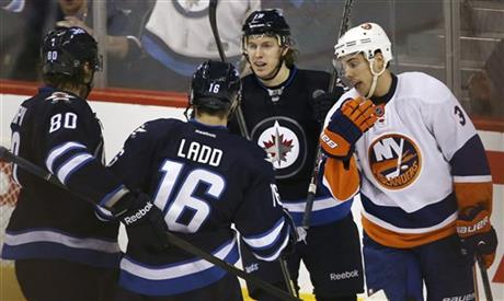 Islanders Jets Hockey