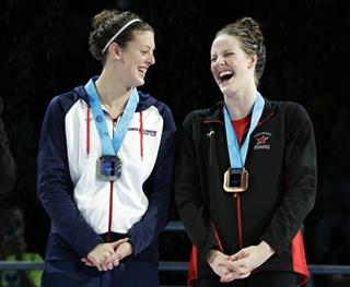 Allison Schmitt, Missy Franklin