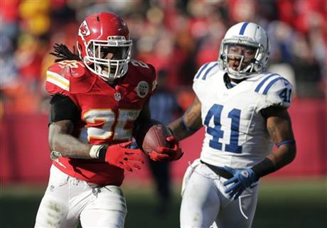 Jamaal Charles, Antoine Bethea