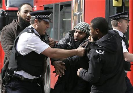 APTOPIX Britain Terror Suspects