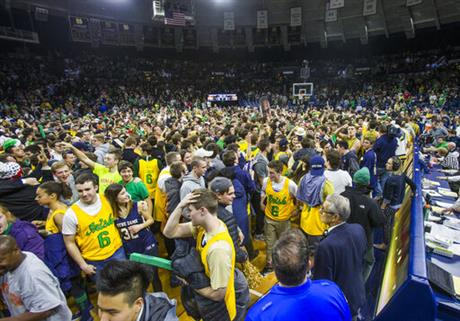 North Carolina Notre Dame Basketball