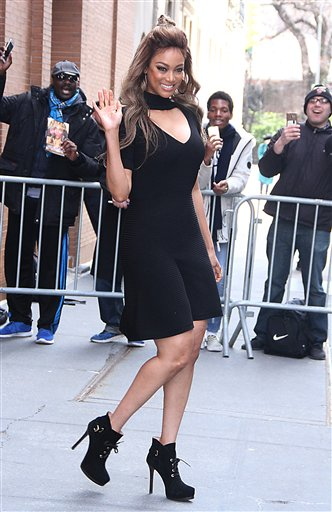 PGroup RW/MediaPunch/IPx A ENT New York USA IPX Tyra Banks Seen In NYC