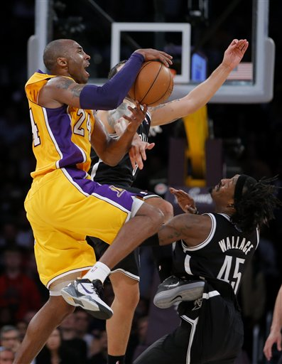 Kobe Bryant, Deron Williams, Gerald Wallace