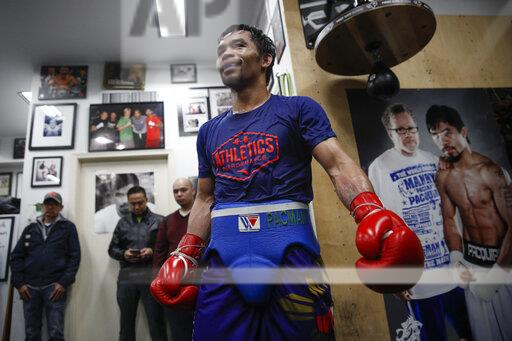 Tim Dahlberg Manny Pacquiao Boxing
