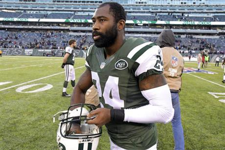 Jets Revis Fight Football