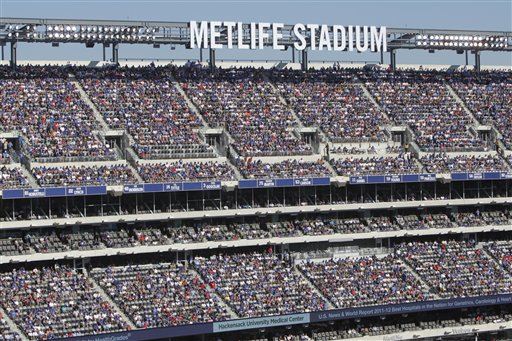 New York Giants/Jets --  MetLife Stadium