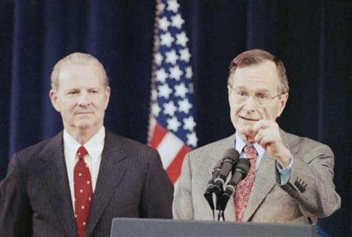 George H. Bush and James A. Baker