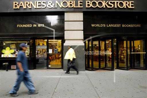 Associated Press Finance & Business New York United States EARNS BARNES & NOBLE