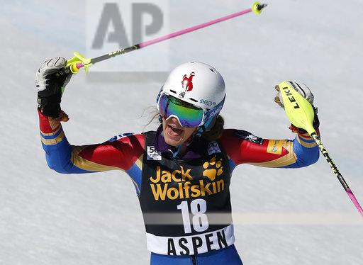 WCup Womens Slalom Skiing