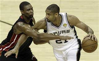 Chris Bosh, Tim Duncan
