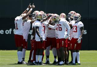 49ers Camp Football