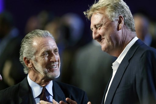 Pat Riley, Larry Bird