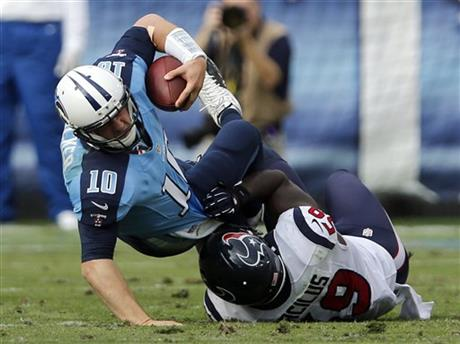 Jake Locker, Whitney Mercilus