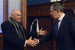 Sergey Lavrov, Mohamed Kamel Amr