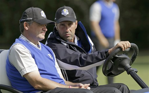 Jose Maria Olazabal, Paul Lawrie