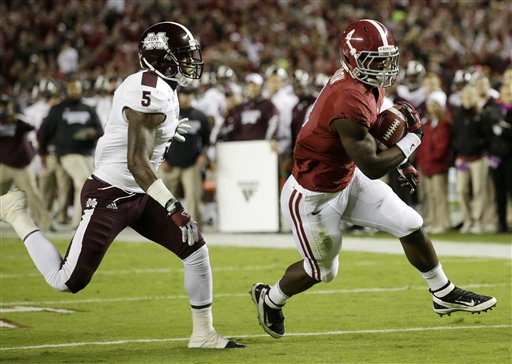 T.J. Yeldon, Nickoe Whitley
