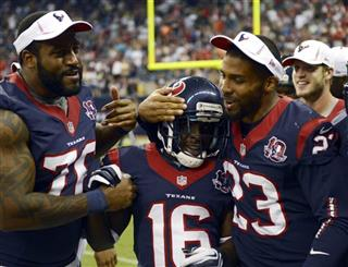 Duane Brown (76), Trindon Holliday, Arian Foster