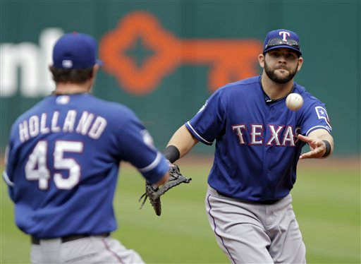 Mitch Moreland, Derek Holland